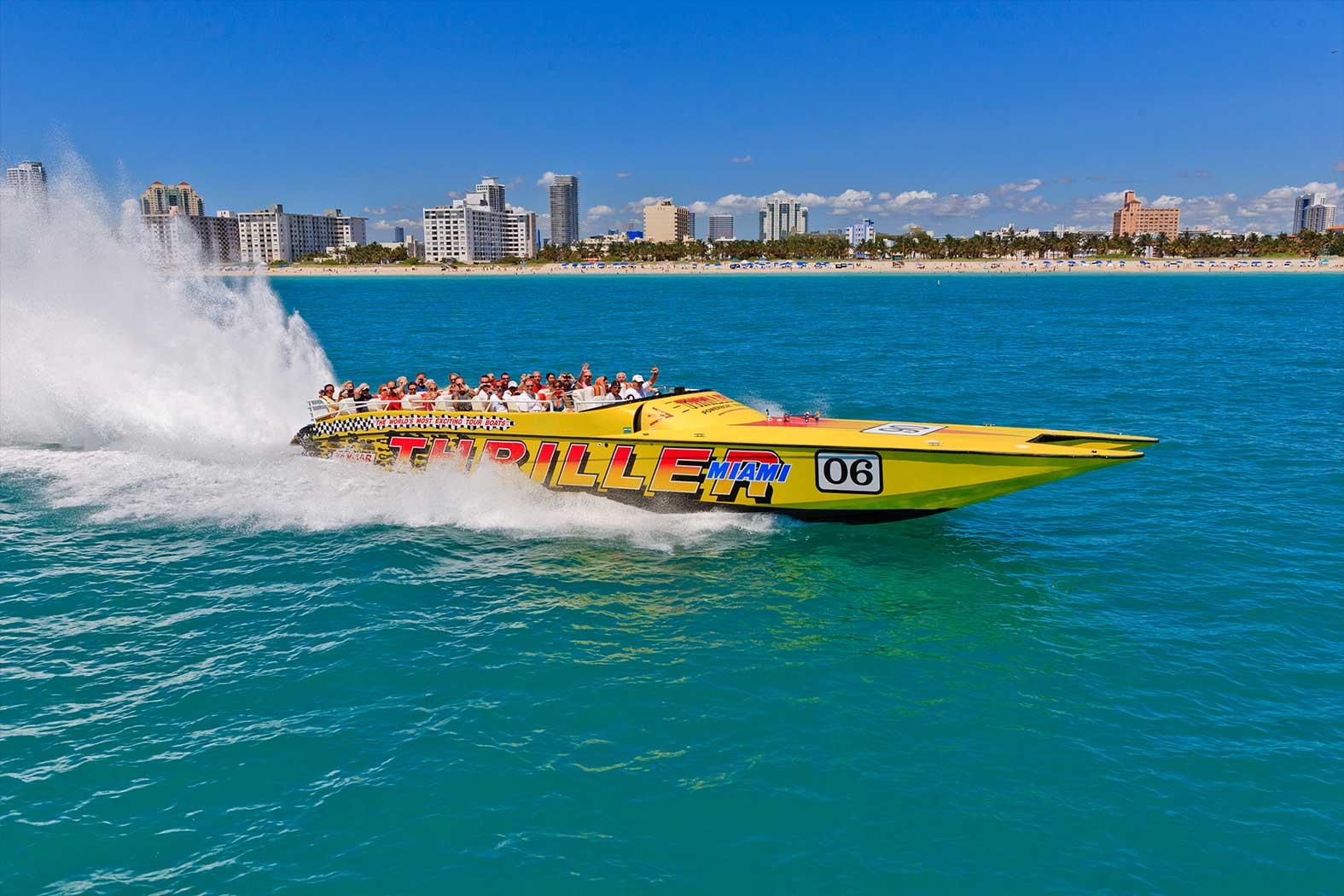 Experience Activities in Miami Speedboat Adventures
