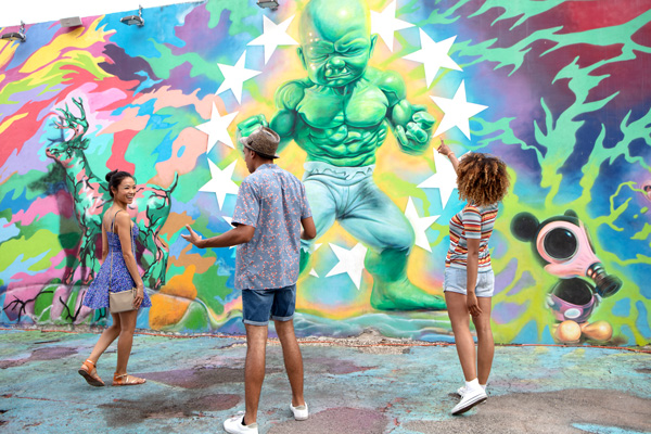 Wynwood Walls Mural Exhibition
