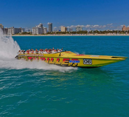 Experience Activities in Miami Speedboat Adventures